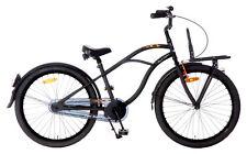 POPAL B2400 Knaben Kinderrad Black Fighter Jungen Fahrrad 24 Zoll Schwarz NEU