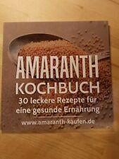 Kochbuch Amaranth 30 leckere Rezepte für eine gesunde Ernährung