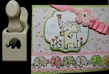 Martha Stewart RARE ADORABLE  NEW IN BOX ELEPHANT PUNCH w popup EAR baby friend