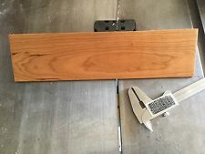 "50 pcs. 1/8"" x 3"" x 12"" cherry thin boards hobby craft wood"