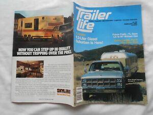 TRAILER LIFE Magazine-FEBRUARY,1982