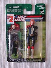 "2004 Hasbro 3.75"" G.I. JOE SCARLETT v.6 Counterintelligence agent action figure"