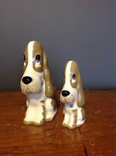 Par Szeiler Sad Sam Sabueso figurillas de perro