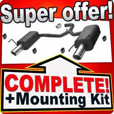 Sport Duplex 2x90mm ALFA ROMEO 159 1.9 2.0  Silencer Exhaust System L05
