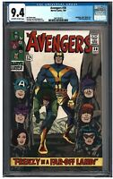 AVENGERS #30 CGC 9.4 (7/66) MARVEL off-white to white pages