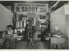 Foire Exposition de Bordeaux Vintage silver print Tirage argentique  17x22