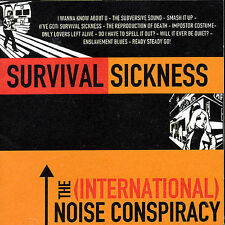 The (International) Noise Conspiracy survival sickness  CD Slightly Used