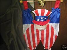 Uncle Sam Decorative Flag Indoor Wall Hang NEW!