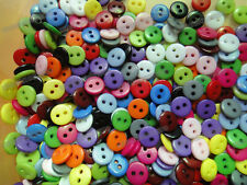 wholesale bulk 420pcs Random Mixed lots 14color Resin shirt Sewing Buttons 9mm