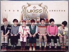 U-Kiss: Bran new Kiss - Mini 5 (2011) Japan Korea / CD  TAIWAN SEALED