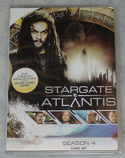 Stargate Atlantis Season 4 Four Complete DVD Box Set - BRAND NEW & SEALED