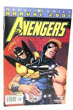 Avengers Annual 2001 Third Man Kurt Busiek Comic Marvel Comics F+