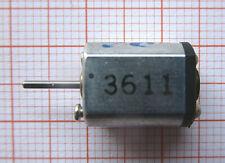 Micro Motor 8/10x16mm, Achse 1/7mm, 4V-DC, 2,75g