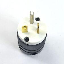 NEMA 5-20P 20A 125V 3-Wire 2-Pole Plug 20Amp Male plug Connector 5-20 125VAC