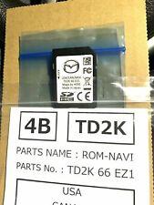 2021 Mazda Cx-5 2021 Mazda Cx-9 Navigation Sd Card Td2K66Ez1 (Fits: Mazda)