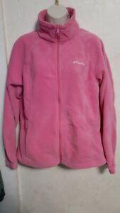 Womens Columbia Fleece Jacket Size Large