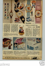 1971 PAPER AD Watch Hot Wheels Mighty Mouse Buffy Jody Barbie Raggedy Ann Cars