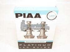 PIAA 26-17392 White 9012 Platinum LED Bulb Kit 25W - 2 Yr Warranty 6000K 4000 lm