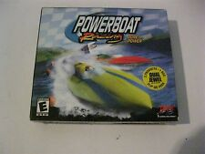 Power Boat Racing and Whiplash new PC Jewel case Interplay