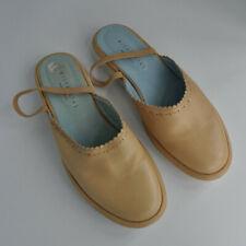 Ladies shoes. Beige Hispanitas Spanish Leather. Size EU 39, UK 6. Slider mules