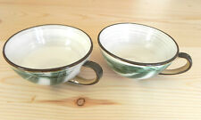 """Kasuga Handcrafted by Showa Cup Set 2 Stoneware Oven-Proof 4""""x2"""""""