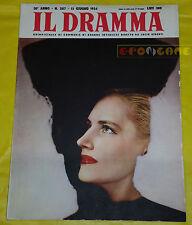 IL DRAMMA 1954 n. 207 - Copioni di Marc G. Sauvajon e Tullio Pinelli