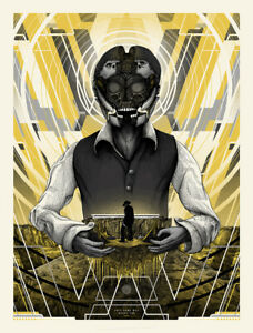 """Westworld Just for You Variant Limited Screen Print Art #25 18"""" x 24"""""""