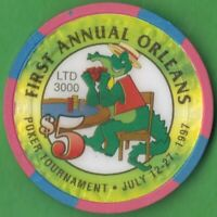 $5 Casino Chip from the Orleans Hotel & Casino in Las Vegas, Nevada