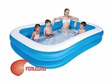 Above Ground Swimming Pool Inflatable 103 1/8X68 7/8X20 1/8in Capacity'