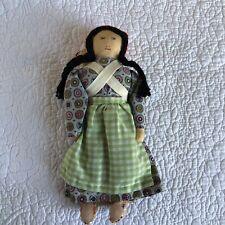 New ListingVintage Cherokee Native American Doll Handmade Signed Lucy Bigmeat-9�