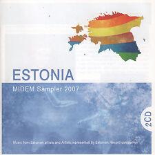 Estonia: MIDEM Sampler 2007 (2 CDs 2007) S.U.N./Ithaka Maria/Maarja/High Jacks..