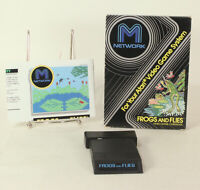 Vintage Boxed Atari 2600 game Frogs & Flies By M Network Tested & Working
