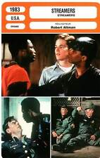 FICHE CINEMA : STREAMERS - Modine,Wright,Altman 1983