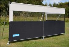 Kampa pro deluxe 3 panel camping caravan aluminium poled windbreak CE7440 2018