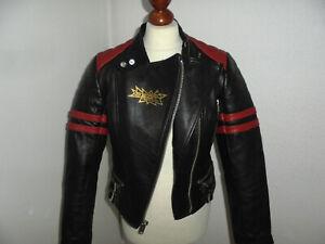 BELMO DESIGN Motorrad Lederjacke 80`s Bikerjacke rockabilly vintage oldschool 40