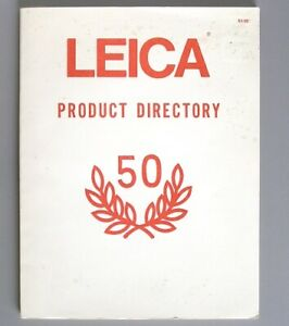 Leica Product Directory & Catalog 1976 - cameras lenses accessories