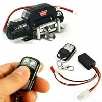 RC Car Single Winch + Wireless Remote Controller for Axial SCX10 D90 D110 TRX4