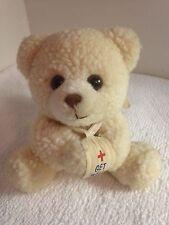"Russ Luv Pets Teddy Bear Plush GET WELL SOON 5.5"""