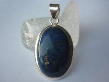 cristalloterapia PENDENTE ARGENTO 925 LAPISLAZZULO pietra gioiello amuleto mare