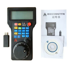 Wireless CNC Mach3 Handwheel USB MPG Pendant Controller Electronic Machine Pluse