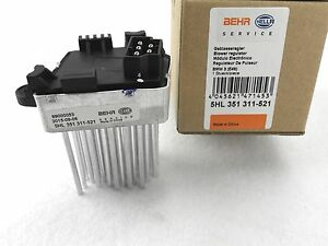 orig. HELLA Gebläseregler für BMW E46  Lüftung Heizung Regler Klimaanlage