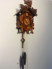 Vintage Collectable Anton Schneider Cuckoo Clock Handcrafted In Germany