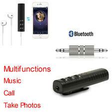 Wireless Blutooth Music Receiver Audio Adapter for IPhone 3.5mm earphone Car Aux