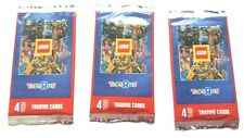 new lego collectors  stickers 6 new packs of stickers
