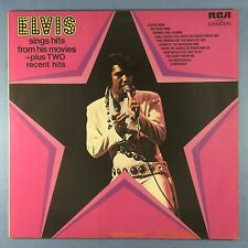 Elvis Presley sings Hits From His Movies plus 2 recent Hits - RCA CDS-1110 Ex