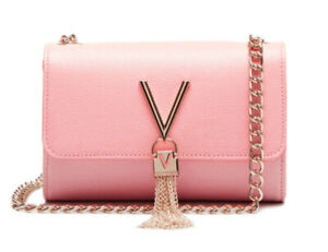 Valentino DIVINA Pattina Pink, Women's Bag Shoulder Bag Crossbody Handbag