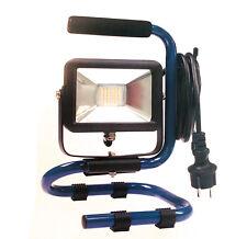 as Schwabe Klappbarer Chip LED Strahler Slimline Baustrahler Lampe 10W 46410
