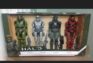 Halo Action Figure 4 Pack 12 Inch Toy Collectibles