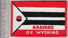American Indian Tribe Flag Wyoming Arapaho Wind River Reservation Northwestern W
