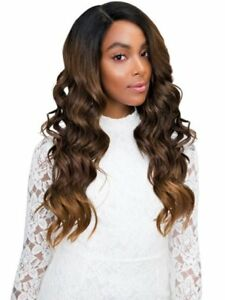 CHELSEA - Human Hair Blend 4x4 Free Parting Lace Front Wig - Janet Collection
